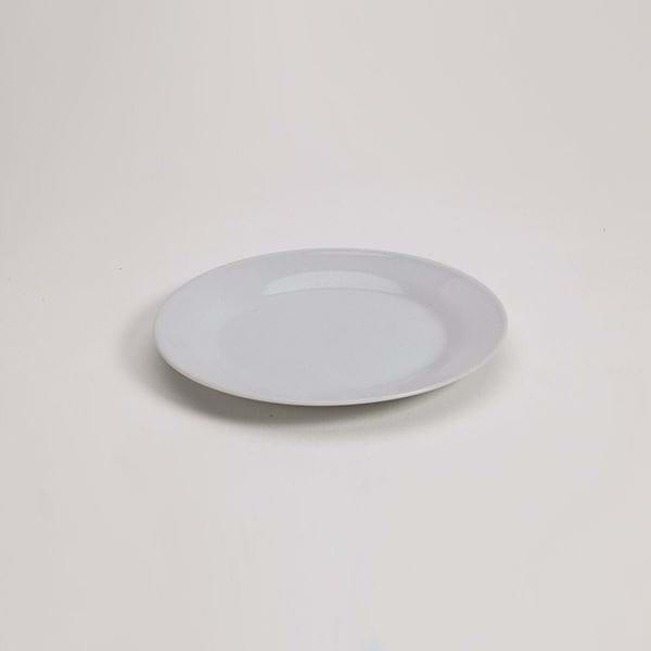"Picture of Pearl White 7.5"" Dessert Plate"