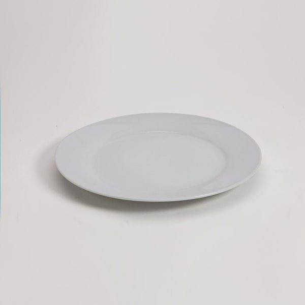 "Picture of Pearl White 9"" Salad Plate"