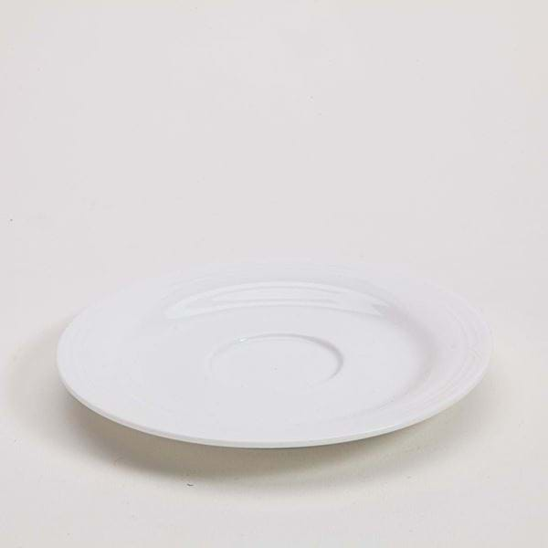 "Picture of Polar White 6"" Saucer"