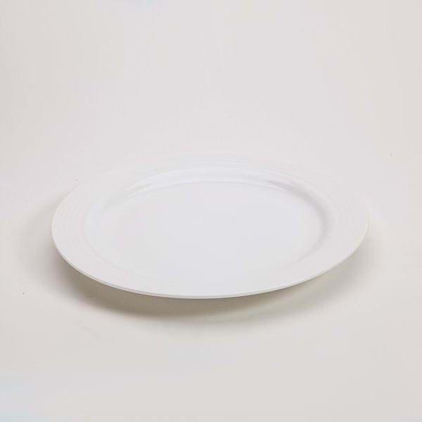 "Picture of Polar White 10.5"" Dinner Plate"