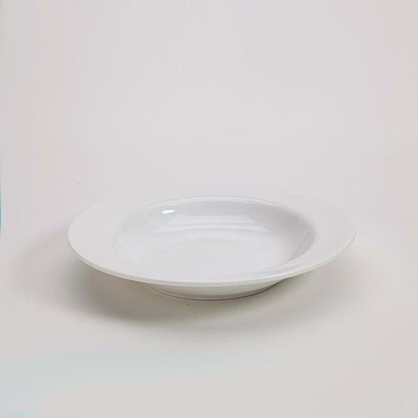 "Picture of Polar White 9"" Soup Plate"