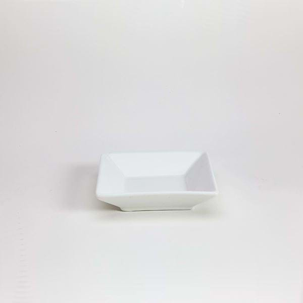 "Picture of Quadrato 4.25"" Square Dividing Plate"
