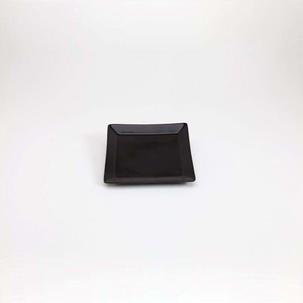 """Picture of Quadrato 5.25"""" Side Plate - Black"""