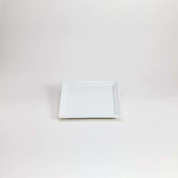 "Picture of Quadrato 7.25"" Square Dessert Plate"