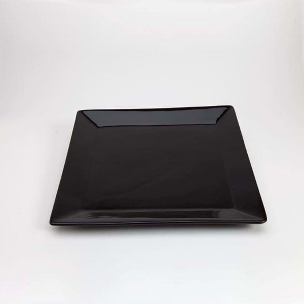 "Picture of Quadrato 11.25"" Square Charger Plate - Black"