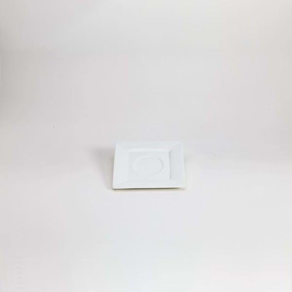 "Picture of Quadrato 5.25"" Square Saucer"