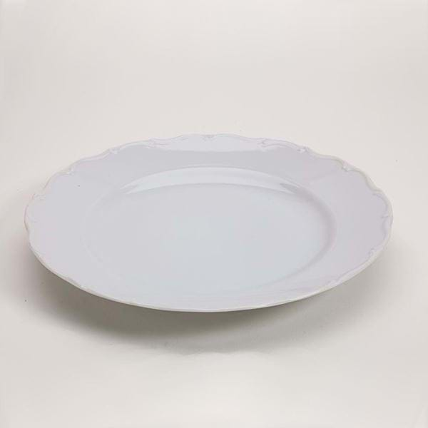 "Picture of Snow Drop 12"" Oversize Plate"