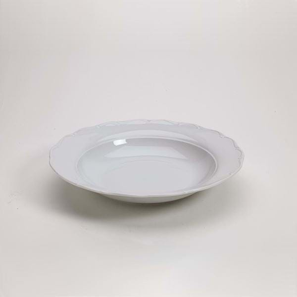 "Picture of Snow Drop 12"" Pasta Plate"