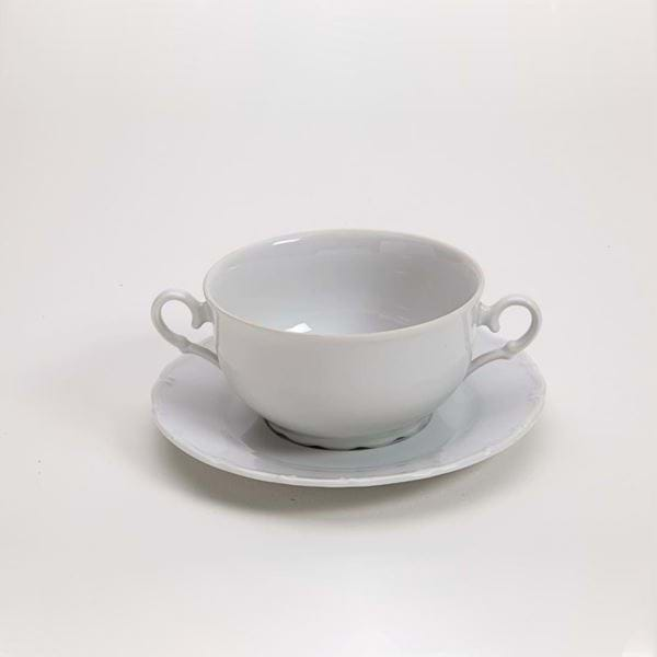 Picture of Snow Drop 11oz Cream Soup with Plate