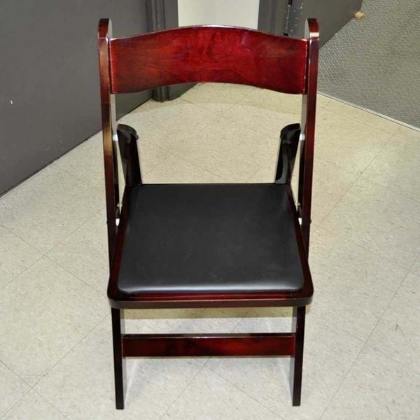 Picture of NES Mahogany Wood Folding Chair
