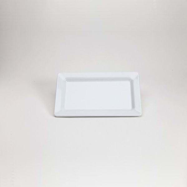 "Picture of 11.5"" x 7"" Rectangular Melamine Plate"