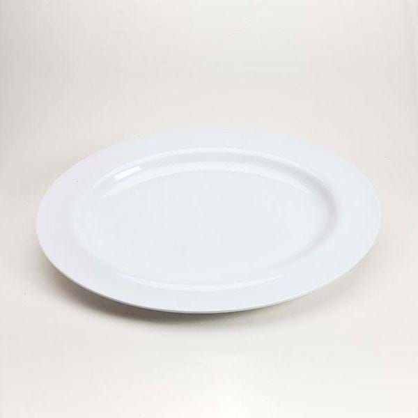 "Picture of 20"" Oval Melamine Platter"