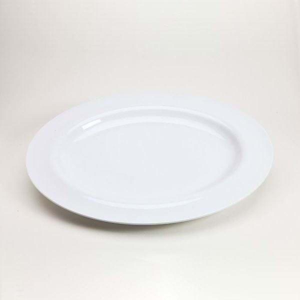 "Picture of 20"" Oval Melamine Platter"