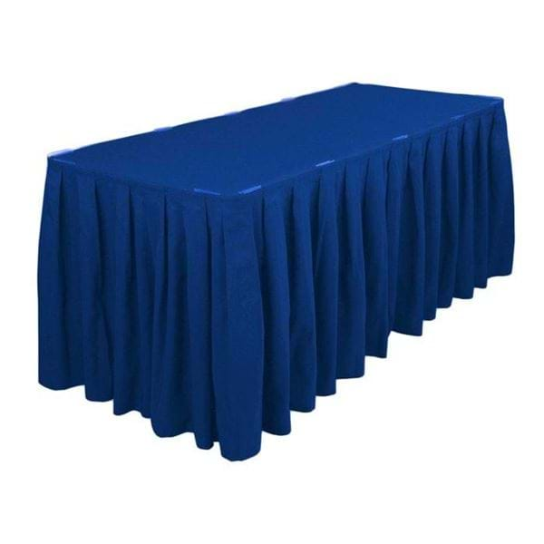 Picture of 21ft Polyester Table Skirt