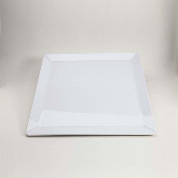 "Picture of 20"" Square Melamine Platter"
