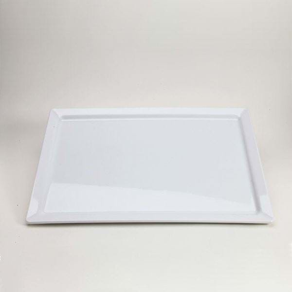 "Picture of 20"" x 14"" Rectangular Melamine Platter"
