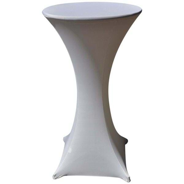 Picture of 24 inch Spandex Cocktail Table Cover