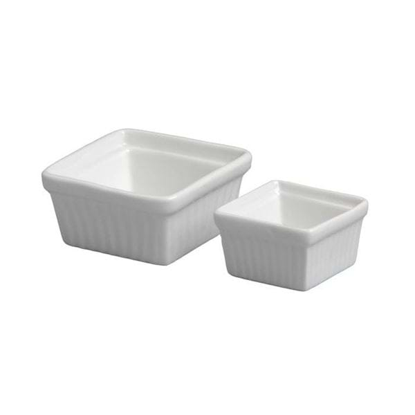 "Picture of 3.5"" Square Ramekin"