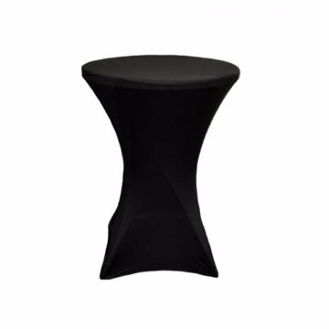 Picture of 30 inch Spandex Cocktail Tablecloth