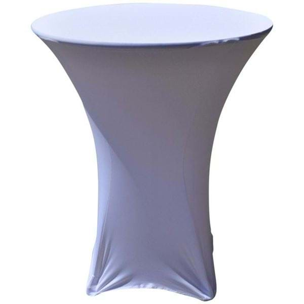 "Picture of 36"" Spandex Cocktail Table Covers"