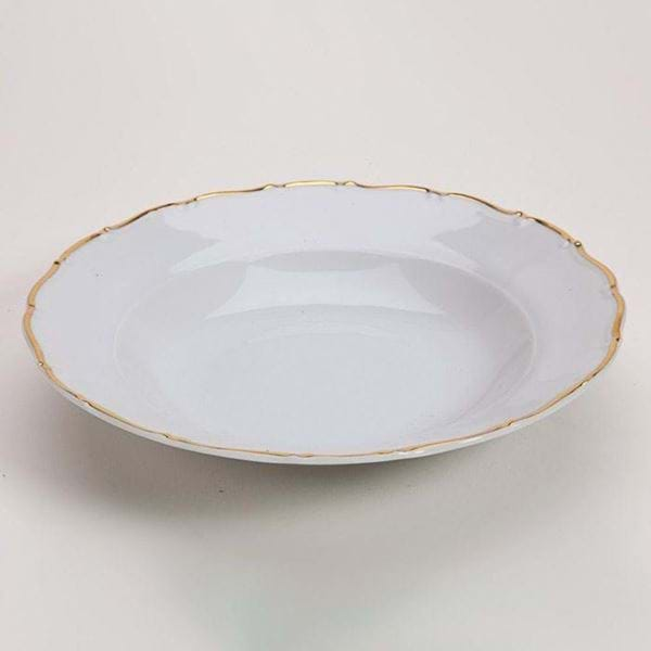"Picture of Avignon Gold 9"" Rim Soup Plate"