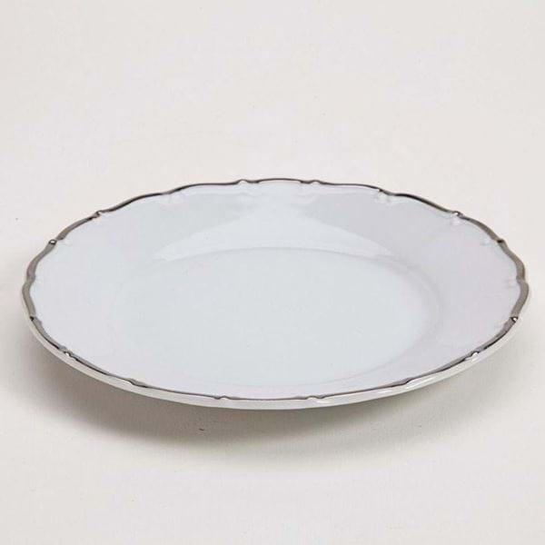 """Picture of Avignon Platinum 7.5"""" Dessert Plate"""