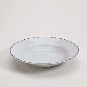"Picture of Avignon Platinum 9"" Rim Soup Plate"