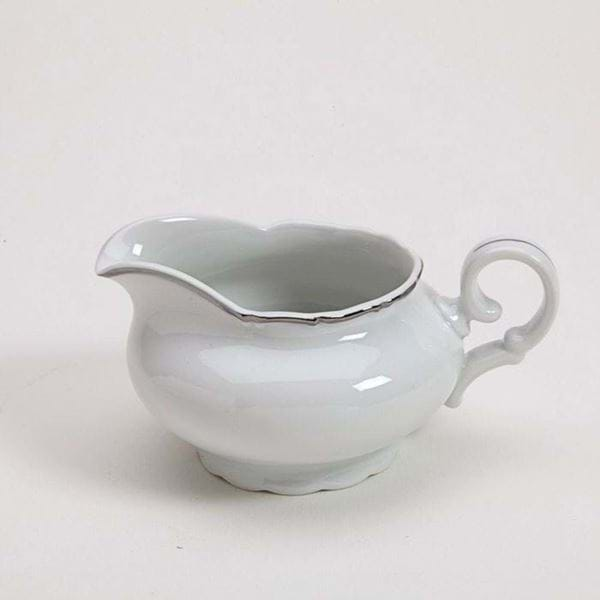 Picture of Avignon Platinum Gravy Boat with Plate