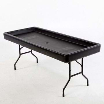 Picture of Fill 'N Chill Party Table - Black