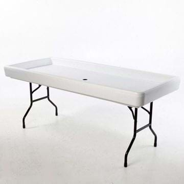 Picture of Fill 'N Chill Party Table - White