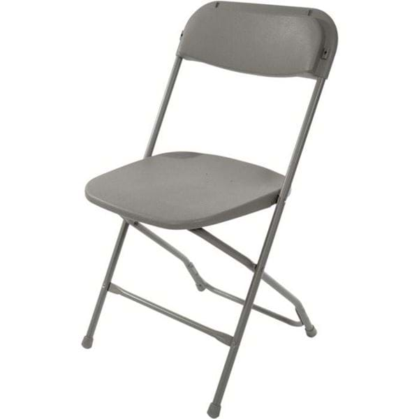 Picture of Grey Plastic Folding Chair