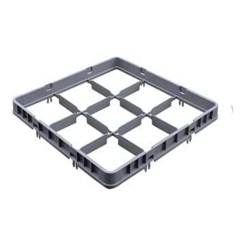Picture of 9 Compartment Half Drop Extender Only