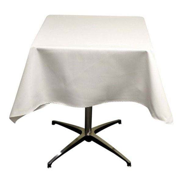Picture of 45x45 inch Square Spun Polyester Tablecloth