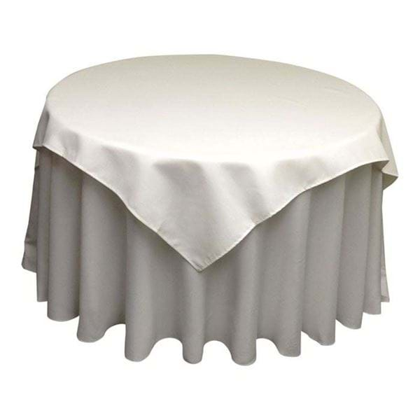 Picture of 54x54 inch Square Spun Polyester Tablecloth