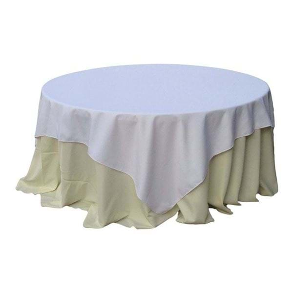 Picture of 90x90 inch Square Spun Polyester Tablecloth