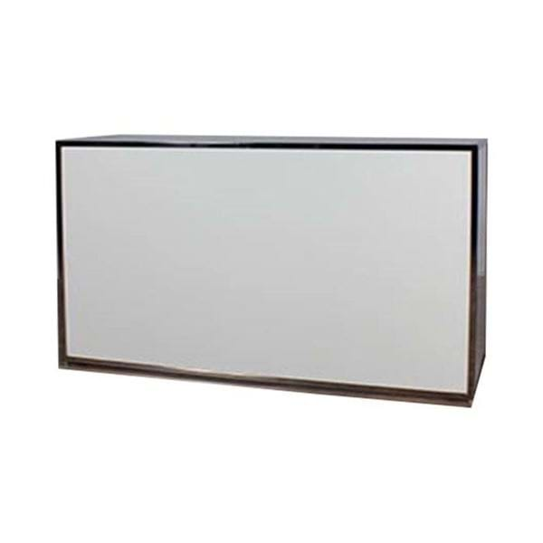 Picture of 6-ft Chrome Plexiglass Bar with Shelf