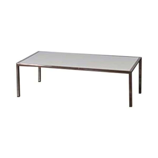 Ft Chrome Plexiglass Coffee Table Ft Chrome Coffee Table - 4ft coffee table