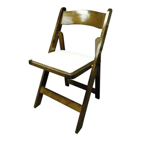 Picture of NES Dark Fruitwood Folding Chair