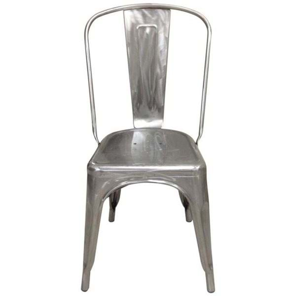 Picture of Industrial Metal Dining Chair