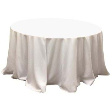 Picture of 120 in Round Spun Polyester Tablecloth