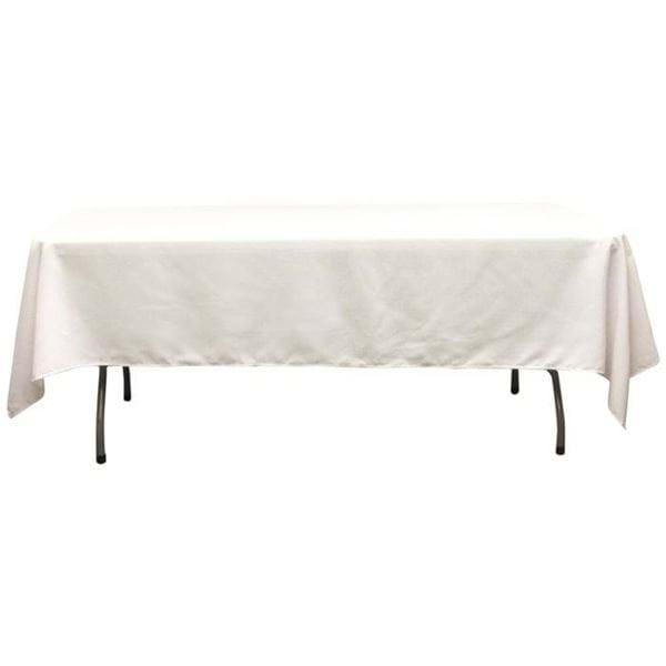 Picture of 60 x 102 in Rectangle Spun Polyester Tablecloth