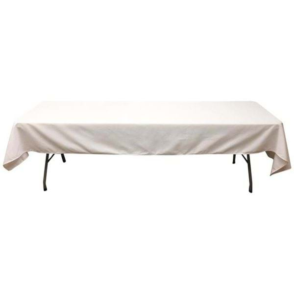Picture of 60 x 126 in Rectangle Spun Polyester Tablecloth