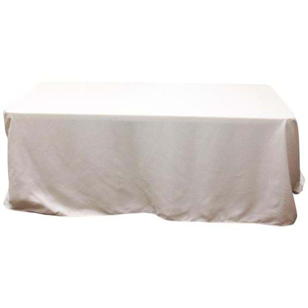 Picture of 90 x 132 in Rectangle Spun Polyester Tablecloth