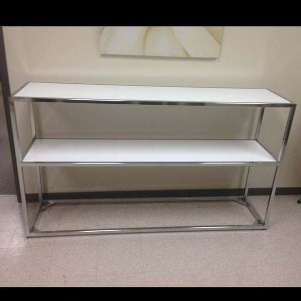 Picture of 6FT Chrome Tabletop Back Bar