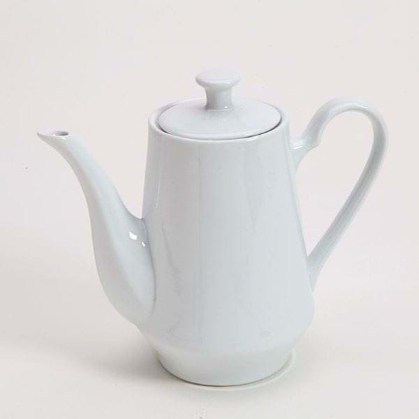 Picture of Pearl White Coffee Pot