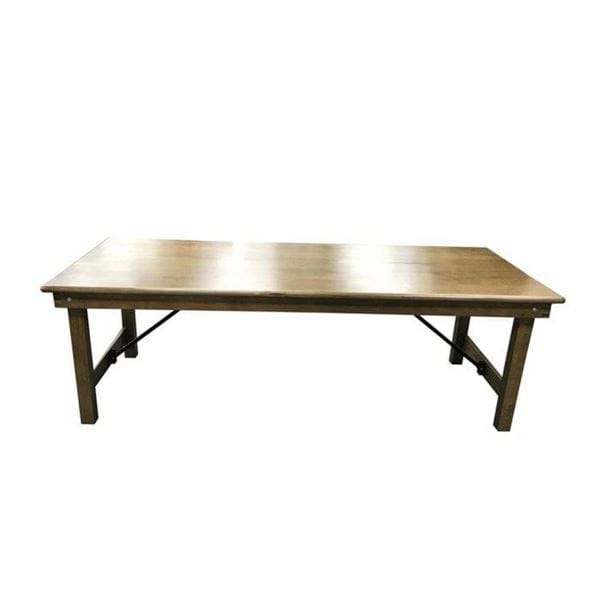 Picture of NES 8 foot Harvest Table with Folding Legs