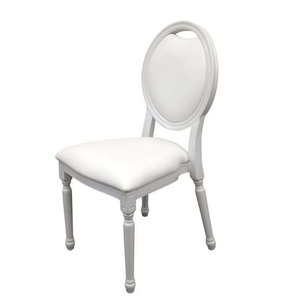 Picture of White King Louis Chair