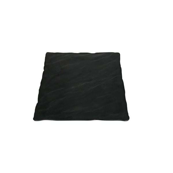 "Picture of 14"" Square Faux Slate Melamine Platter"