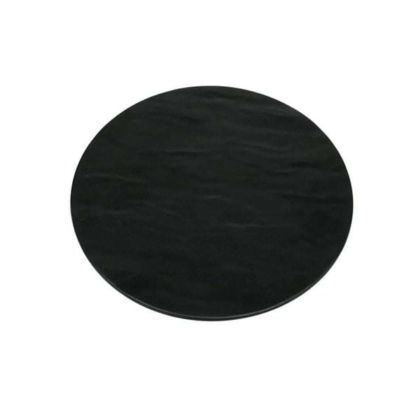 "Picture of 12.75"" Round Faux Slate Melamine Platter"
