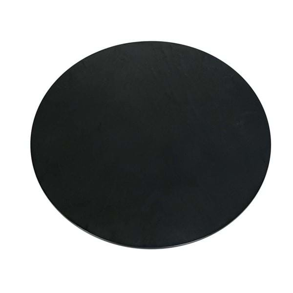 "Picture of 17"" Round Faux Slate Melamine Platter"